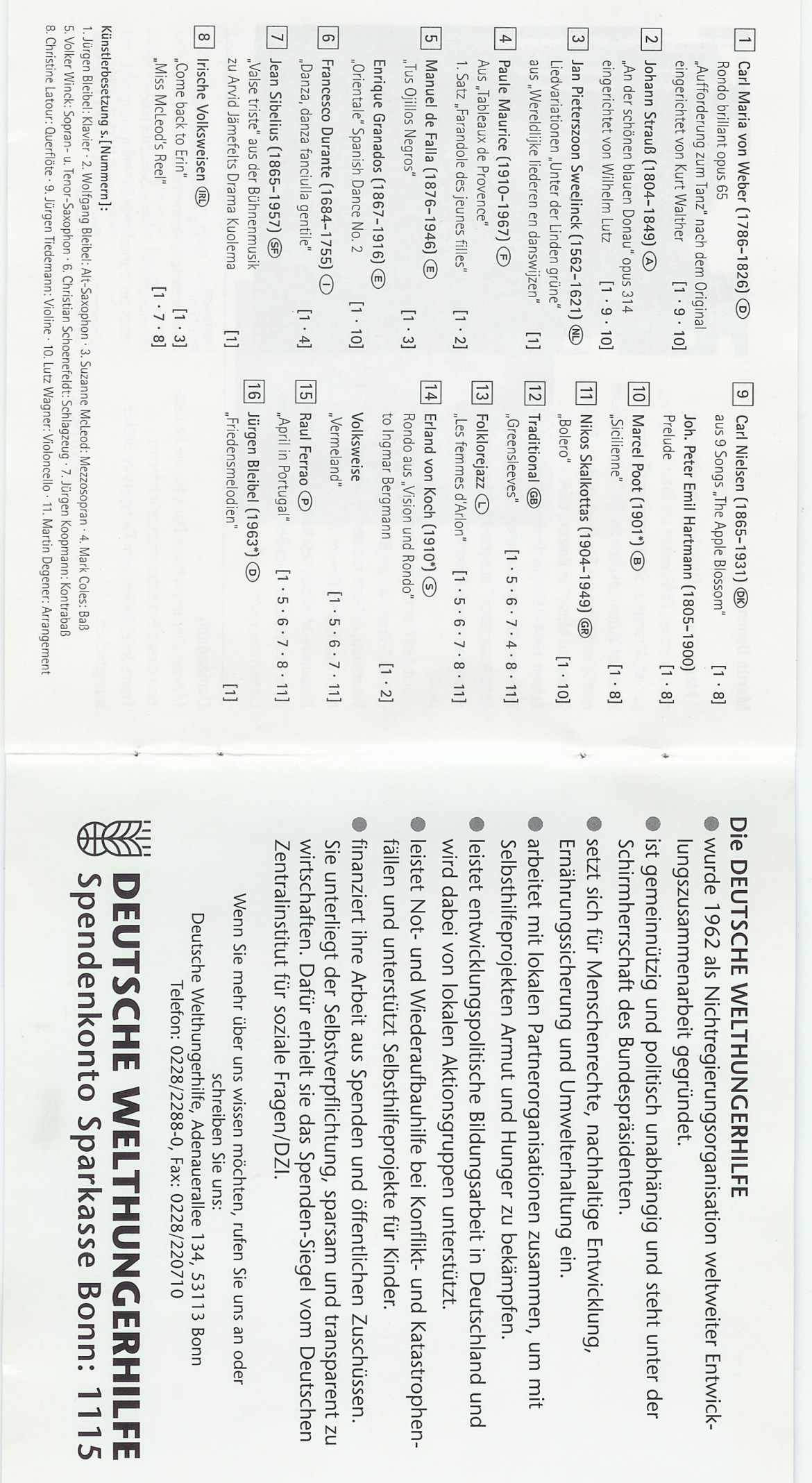Europa tanzt Booklet 3